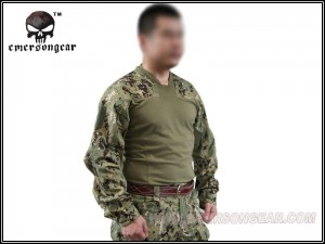Emerson - combat shirt  Arc Style LEAF - AOR2