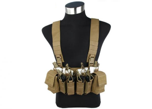 TMC - kamizelka  XR Chest Rig - Coyote Brown