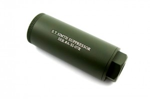 Action S.T. Simth Silencer 35 X 80mm ( Green / 14mm - )